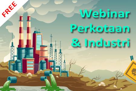 Webinar PSLH ITB : Perkotaan dan Industri
